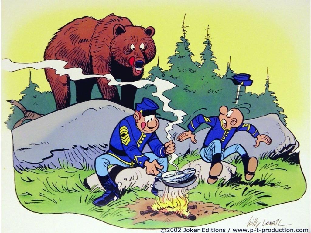 Les tuniques bleues (BD-54 tomes-PDF)