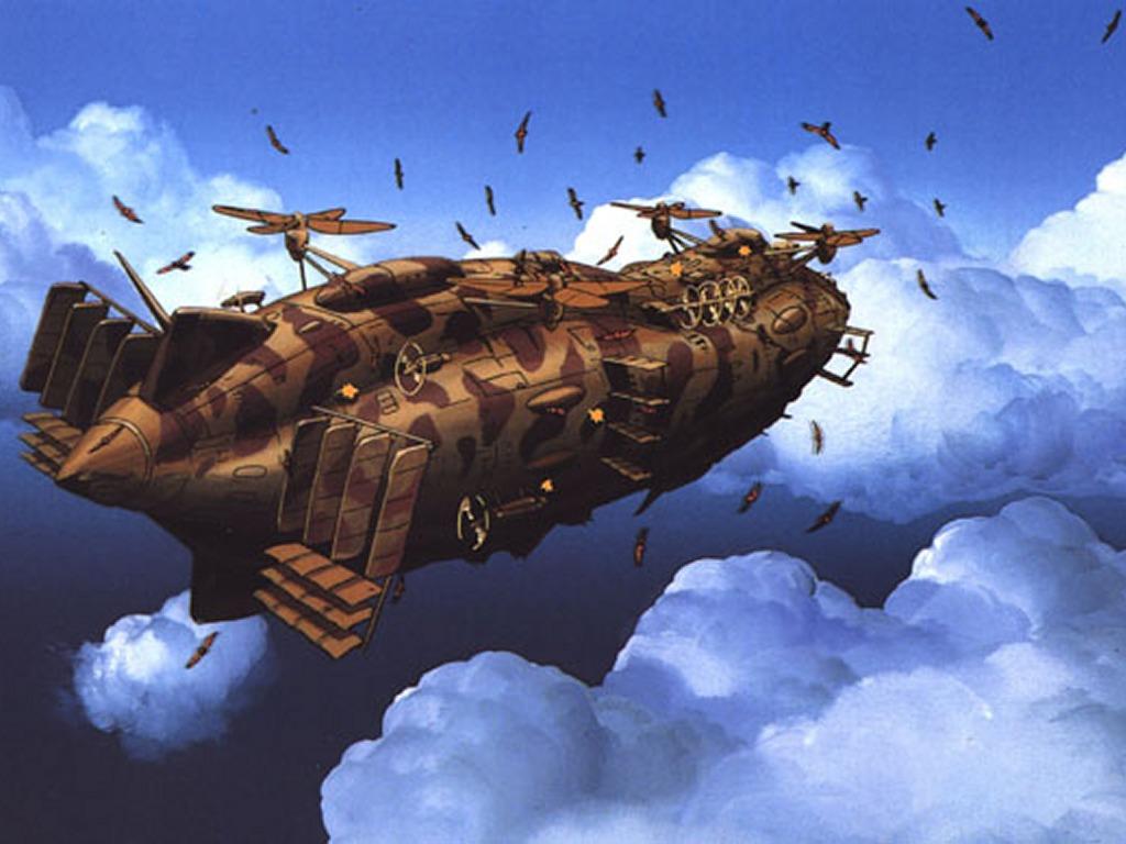 天空の城ラピュタ戦闘機