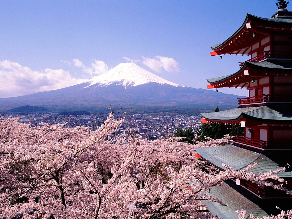 Fuji San Mont_Fuji_Japon_1024x768